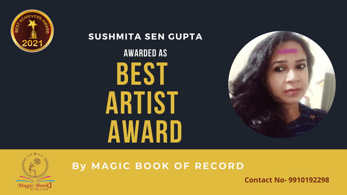 Sushmita Sen Gupta-Tripura-Magic Book of Record