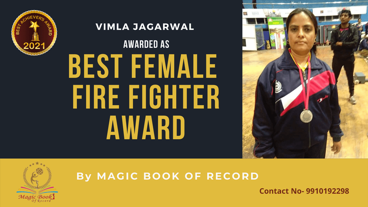 Vimla Jagarwal-Rajasthan-Magic Book of Record