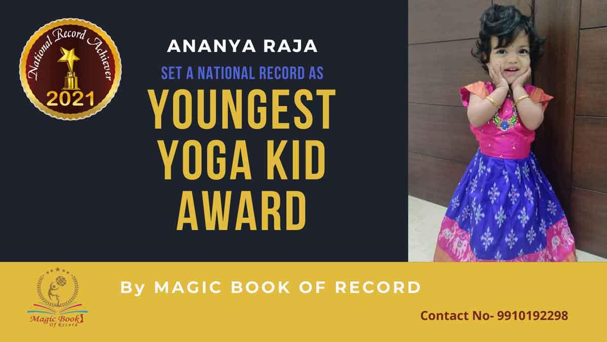 Ananya Raja-Andhra Pradesh-Magic Book of Record