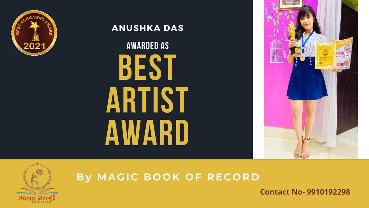 Anushka Das-Assam-Magic Book of Record