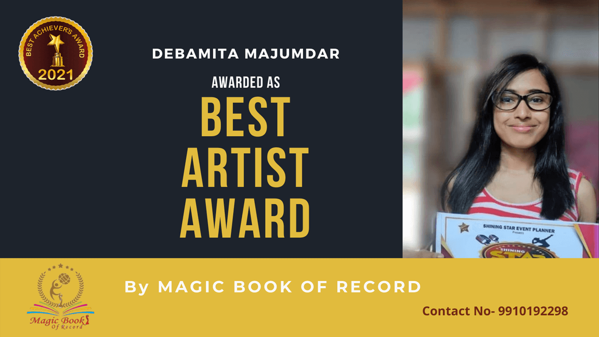Debamita Majumdar-Tripura-Magic Book of Record