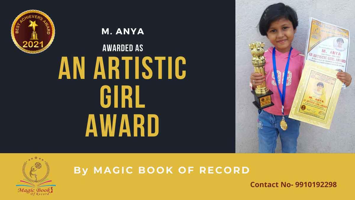 M. Anya Artistic Girl