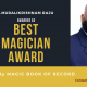 Magician P.Muralikrishnam Raju-Telangana-Magic Book of Record