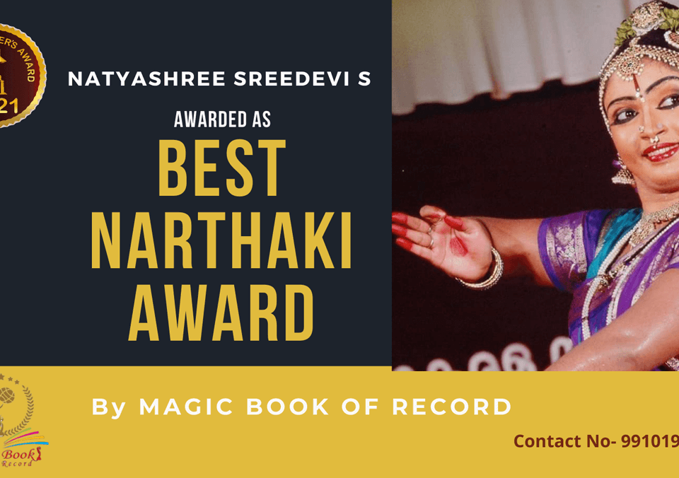 Natyashree Sreedevi S-Tamil Nadu-Magic Book of Record