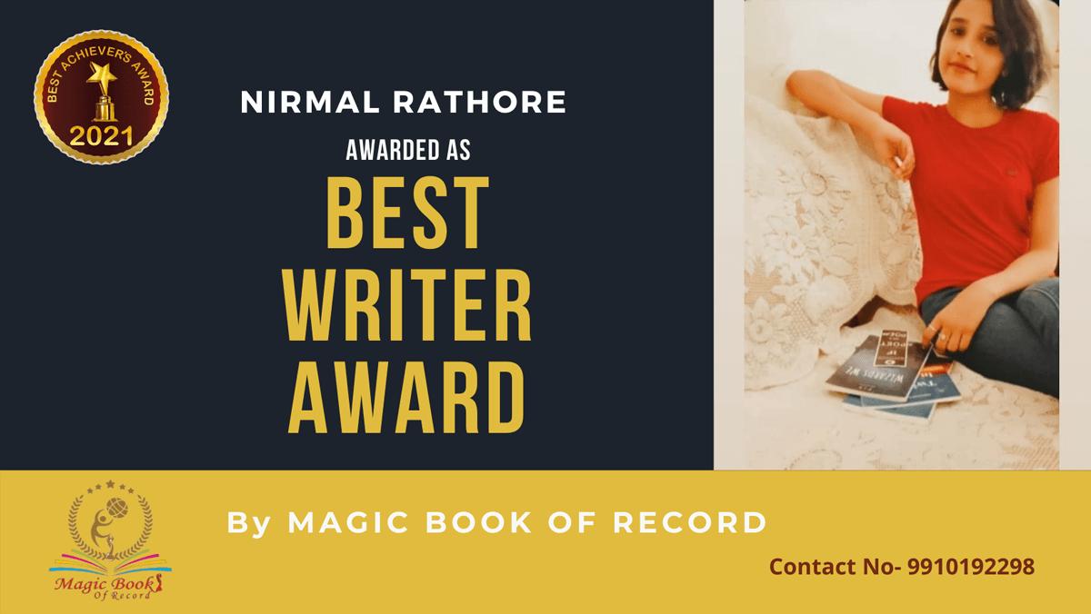 Nirmal Rathore Writer Rajasthan