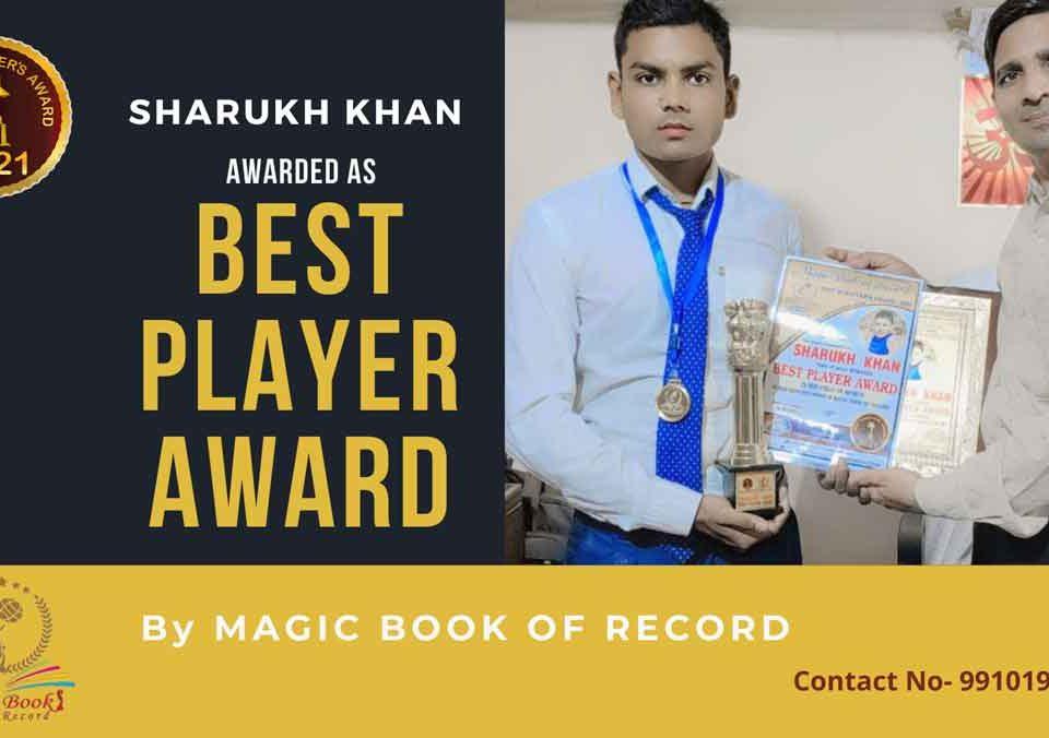 Sharukh Khan-Haryana-Magic Book of Record