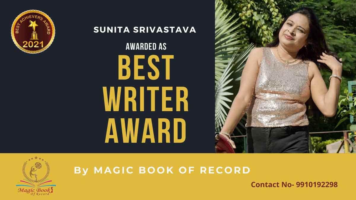 Sunita Srivastava-Delhi-Magic Book of Record