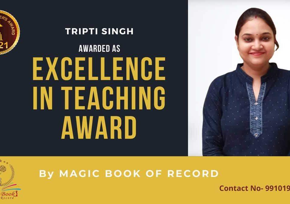 Tripti Singh Teacher Uttar Pradesh