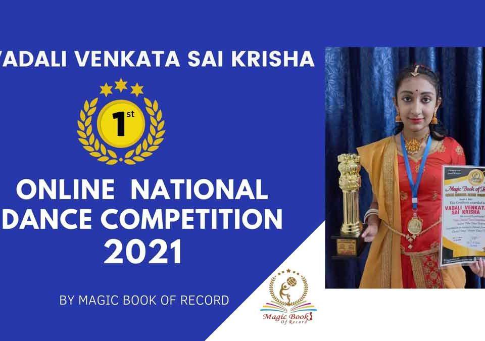 Vadali Venkata Sai Krisa-Telangana-Magic Book fo Record