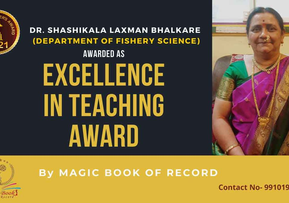 Dr Shashikala Laxman Bhalkare Maharashtra